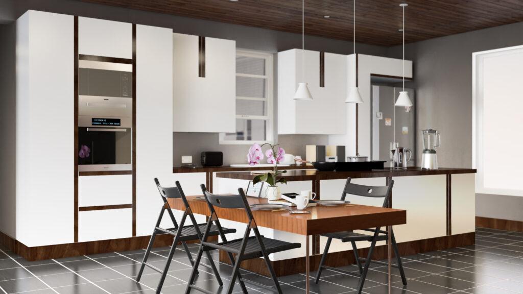 Küchen Visualisierung für web & print Grafiken